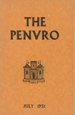 The Penvro July 1951